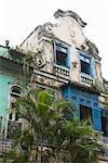 Altes Haus, Copacabana, Rio De Janeiro Rio de Janeiro Zustand, Brasilien