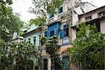 In alten Häusern, Copacabana, Rio De Janeiro Rio de Janeiro Zustand, Brasilien