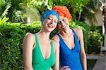 Two women smiling,Biltmore Hotel,Coral Gables,Florida,USA