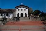 Facade of a church,Mission San Luis Obispo De Tolosa,San Luis Obispo,California,USA