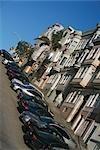 Car parked at the roadside,San Francisco,California,USA