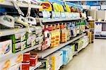 Appareils ménagers dans un supermarché