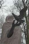 Powazki Friedhof, Warschau, Polen