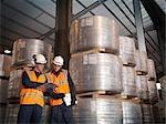 Travailleurs portuaires vérification Cargo