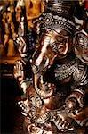 Bronze Elephant God,Ganesh.