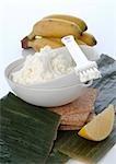 Banana-curd pack