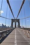 Pont de Brooklyn, New York City, New York, États-Unis