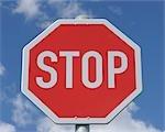 Stop Sign, Bavaria, Germany