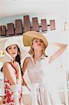 filles ayant shopping fun