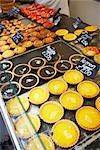 Gebackene waren, Markt, Wells, Somerset, England, Vereinigtes Königreich