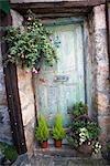 Door, St Ives, Cornwall, England, United Kingdom