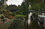 Canal, Giethoorn, Steenwijkerland, Overijssel, Netherlands