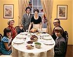 1970s FAMILY DINNER