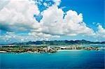 VIRGIN ISLANDS, WEST INDIES SCENIC VIEW OF ISLANDS