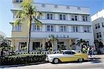 VOITURE CLASSIQUE DE SOUTH BEACH DE MIAMI FL