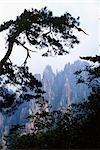 HUANGSHAN GELB BERG DER PROVINZ ANHUI, CHINA