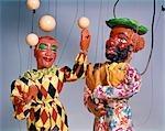 1970s PUPPET SHOW JUGGLER AND CLOWN CIRCUS