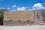 Carlsbad Caverns National Park Entrance, New Mexico, USA
