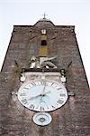 Old Clock Tower in San Vito d'Altivole, Treviso Province, Veneto, Italy