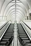 Liege-Guillemins Train Station, Liege, Wallonia, Belgium