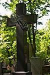 Monument at Powazki Cemetery, Warsaw, Poland