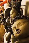 Statues of Hindu deities, Kolkata, West Bengal, India