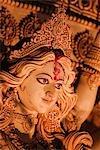 Statue of goddess Durga, Kolkata, West Bengal, India