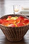 Basket of Flower Petals