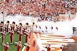 Texas Longhorns Football Spiel, Austin, Texas, USA