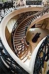Treppenhaus im Petit Palais in Paris, Frankreich
