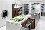 Intérieur de cuisine de luxe