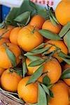 Oranges sur le marché