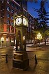Steam Clock in Gastown, Vancouver, British Columbia, Canada