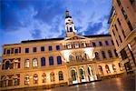Hôtel de ville, place de la mairie, la vieille ville, Riga, Riga District, Lettonie