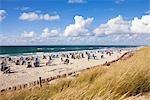 Beach, Sylt, Schleswig-Holstein, Germany
