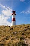 Lighthouse, List, Sylt, Schleswig-Holstein, Germany
