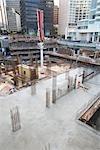 Construction Site, Vancouver, British Columbia, Canada