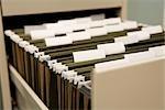 Gros plan des fichiers de classeur