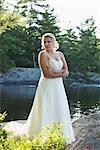 Porträt der Braut, Ontario, Kanada