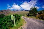 Black Valley, Killarney Nationalpark, County Kerry, Irland; Postfach und Land Straße