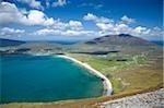 Achill Island, Co Mayo, Ireland; Trawmore from the Menawn Cliffs