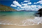 Achill Island, Co Mayo, Ireland; Tranquil sea at Keem Strand