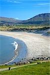 Bunduff Strand, Mullaghmore, Co Sligo, Irlande ; Long beach et destination touristique populaire