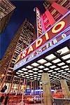 Radio City Music Hall, Manhattan, New York City, New York, États-Unis