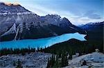 Peyto Lake, Parc National Banff, Alberta, Canada