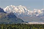 Mont Hunter, Denali National Park et Preserve, Alaska, USA