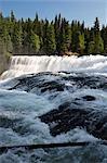 Helmcken Falls, Parc Provincial de Wells Grey, en Colombie-Britannique, Canada