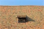 Lucarne, toit, Allemagne