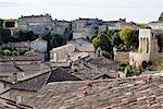 Rooftops, Saint Emilion, Gironde, Aquitaine, France