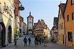Tour Siebers, Rothenburg ob der Tauber, arrondissement d'Ansbach, Bavière, Allemagne